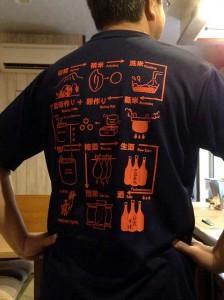 酒造りTシャツ