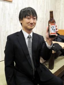 一周年記念ビール