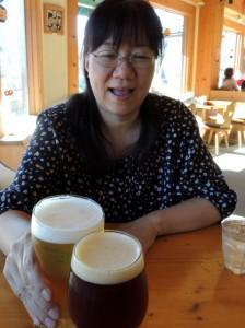 クラフトビアで乾杯