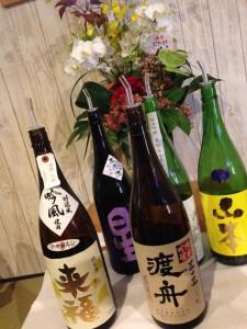 呑み放題の日本酒