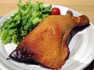 鶏もも肉のスモーク