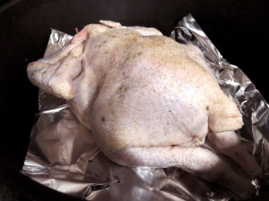 鶏の丸焼き