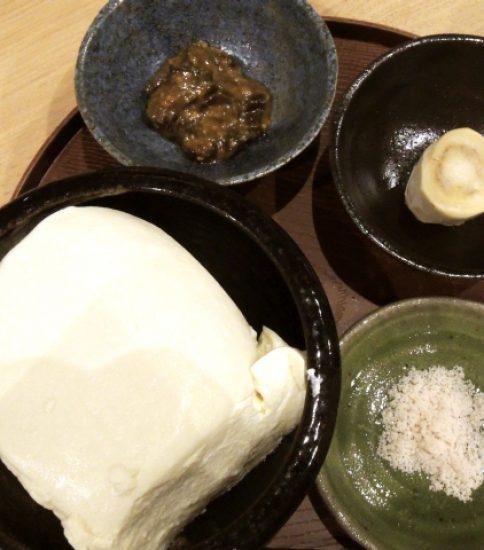 ほの家の豆腐
